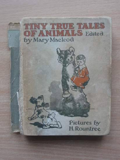 Photo of TINY TRUE TALES OF ANIMALS written by Macleod, Mary illustrated by Rountree, Harry published by Wells Gardner, Darton & Co. Ltd. (STOCK CODE: 571661)  for sale by Stella & Rose's Books
