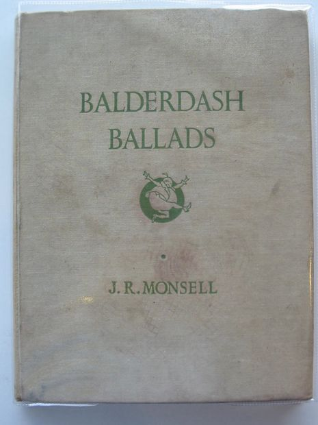 Photo of BALDERDASH BALLADS written by Monsell, J.R. illustrated by Monsell, J.R. published by William Heinemann Ltd. (STOCK CODE: 571900)  for sale by Stella & Rose's Books