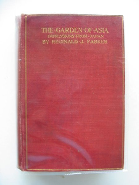 Photo of THE GARDEN OF ASIA written by Farrer, Reginald published by Methuen & Co. (STOCK CODE: 572120)  for sale by Stella & Rose's Books