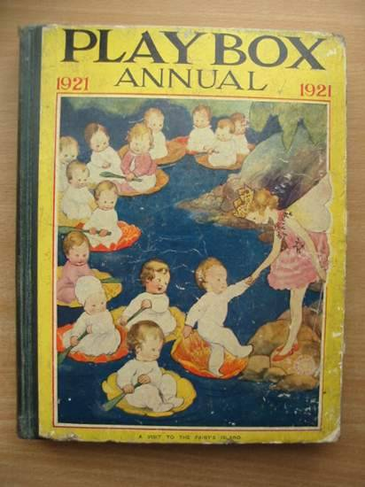 Photo of PLAYBOX ANNUAL 1921 illustrated by Jackson, A.E.<br />Robinson, W. Heath<br />Wain, Louis<br />et al.,  published by The Amalgamated Press (STOCK CODE: 573974)  for sale by Stella & Rose's Books