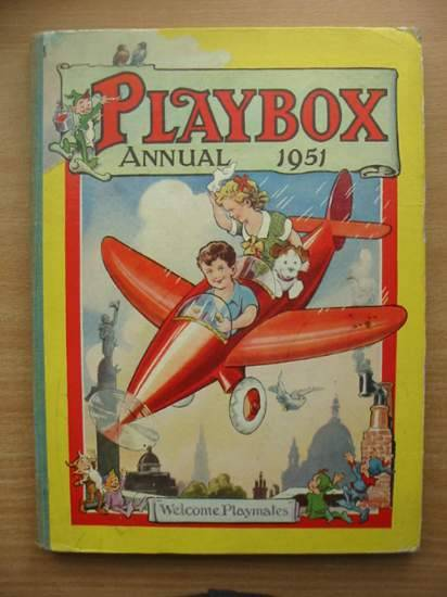 Photo of PLAYBOX ANNUAL 1951 published by The Fleetway House (STOCK CODE: 573985)  for sale by Stella & Rose's Books