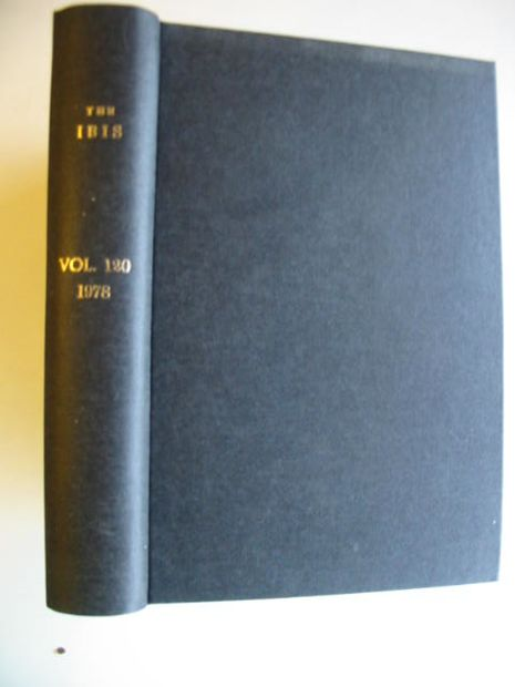 Photo of THE IBIS VOLUME 120 published by British Ornithologists' union (STOCK CODE: 575449)  for sale by Stella & Rose's Books