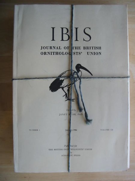 Photo of THE IBIS VOLUME 126 published by British Ornithologists' union (STOCK CODE: 575691)  for sale by Stella & Rose's Books