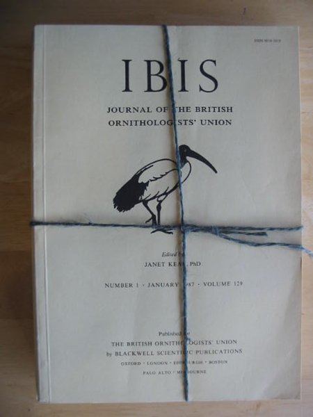 Photo of THE IBIS VOLUME 129 published by British Ornithologists' union (STOCK CODE: 575692)  for sale by Stella & Rose's Books
