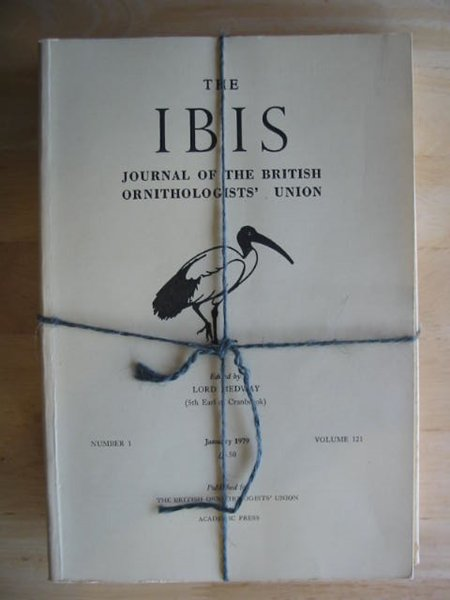 Photo of THE IBIS VOLUME 121 published by British Ornithologists' union (STOCK CODE: 575695)  for sale by Stella & Rose's Books