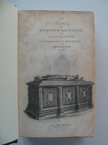 Photo of THE BEAUTIES OF ENGLAND AND WALES VOL XV WARWICKSHIRE &AMP; WORCESTERSHIRE written by Britton, John<br />Brewer, J. Norris<br />Hodgson, J.<br />Laird, F.C. published by J. Harris (STOCK CODE: 576364)  for sale by Stella & Rose's Books