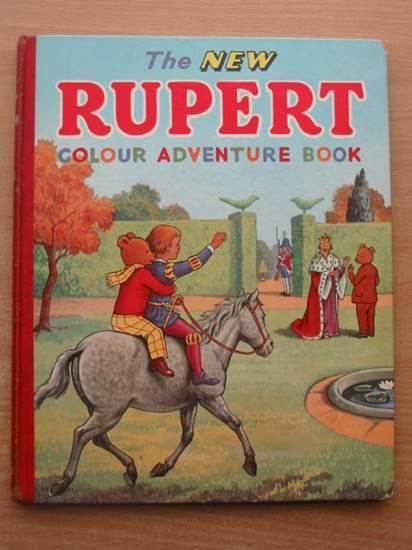 Photo of THE NEW RUPERT COLOUR ADVENTURE BOOK written by Tourtel, Mary published by L.T.A. Robinson Ltd. (STOCK CODE: 581567)  for sale by Stella & Rose's Books