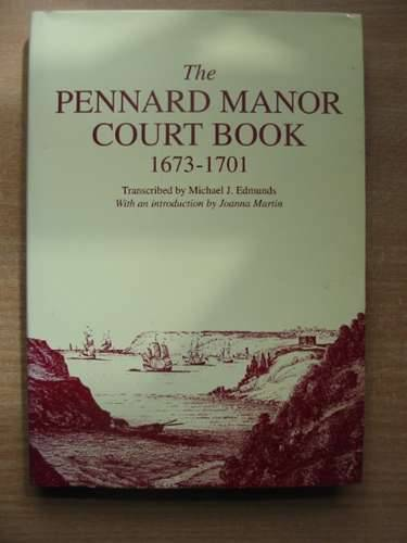 Photo of THE PENNARD MANOR COURT BOOK 1673-1701 written by Edmunds, Michael J.<br />Martin, Joanna published by South Wales Record Society (STOCK CODE: 583065)  for sale by Stella & Rose's Books