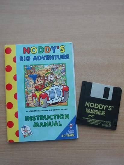 Photo of NODDY'S BIG ADVENTURE INSTRUCTION MANUAL