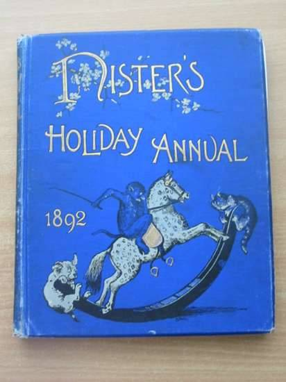 Photo of NISTER'S HOLIDAY ANNUAL 1892 written by L'Estrange, C.J. illustrated by Dicksee, M.J.<br />et al.,  published by Ernest Nister (STOCK CODE: 583463)  for sale by Stella & Rose's Books
