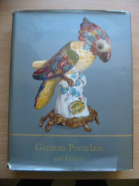 Photo of GERMAN PORCELAIN AND FAIENCE written by Ducret, Siegfried published by Oldbourne Press (STOCK CODE: 583872)  for sale by Stella & Rose's Books