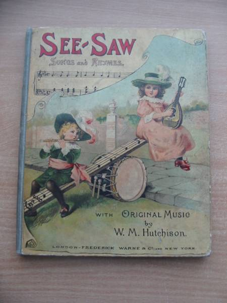 Photo of SEE-SAW written by Hutchison, William M. published by Frederick Warne & Co. (STOCK CODE: 584211)  for sale by Stella & Rose's Books