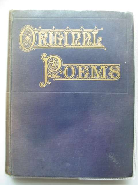 Photo of ORIGINAL POEMS published by George Routledge & Sons Ltd. (STOCK CODE: 584836)  for sale by Stella & Rose's Books