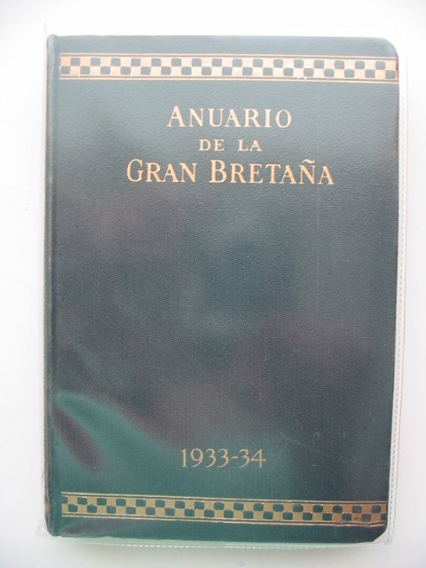 Photo of ANUARIO DE LA GRAN BRETANA 1933-34 written by Davies, Howell published by Trade & Travel Publications (STOCK CODE: 587510)  for sale by Stella & Rose's Books