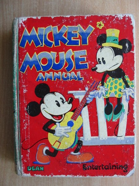Photo of MICKEY MOUSE ANNUAL 1935 FOR 1936 written by Disney, Walt illustrated by Disney, Walt published by Dean & Son Ltd. (STOCK CODE: 587776)  for sale by Stella & Rose's Books