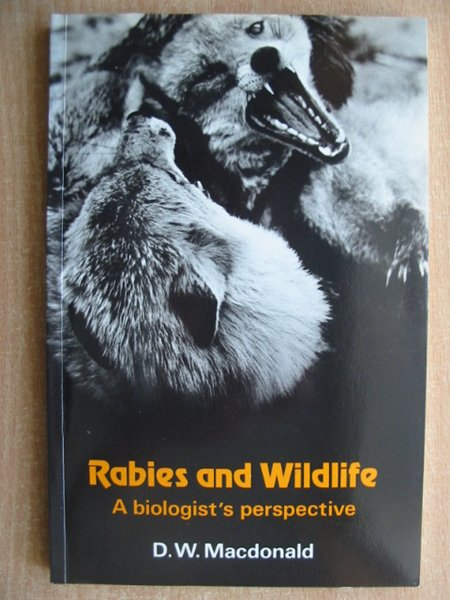 Photo of RABIES AND WILDLIFE written by MacDonald, D.W. published by Oxford University Press (STOCK CODE: 587988)  for sale by Stella & Rose's Books
