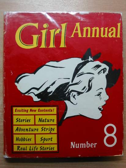 Photo of GIRL ANNUAL No. 8 written by Morris, Marcus published by Hulton Press Ltd. (STOCK CODE: 588778)  for sale by Stella & Rose's Books