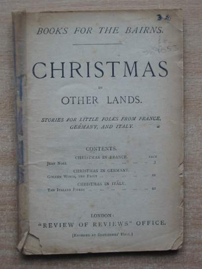 Photo of CHRISTMAS IN OTHER LANDS published by Review Of Reviews Office (STOCK CODE: 589053)  for sale by Stella & Rose's Books