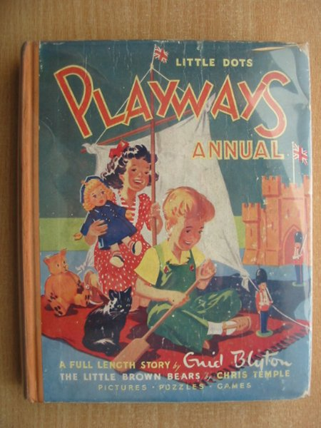 Photo of PLAYWAYS ANNUAL written by Blyton, Enid<br />et al,  published by Playways Office (STOCK CODE: 590933)  for sale by Stella & Rose's Books
