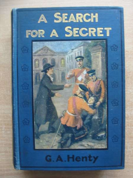 Photo of A SEARCH FOR A SECRET written by Henty, G.A. published by Gall and Inglis (STOCK CODE: 591113)  for sale by Stella & Rose's Books