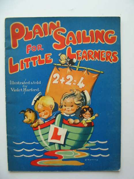 Photo of PLAIN SAILING FOR LITTLE LEARNERS written by Harford, Violet illustrated by Harford, Violet published by Valentine & Sons Ltd. (STOCK CODE: 592613)  for sale by Stella & Rose's Books