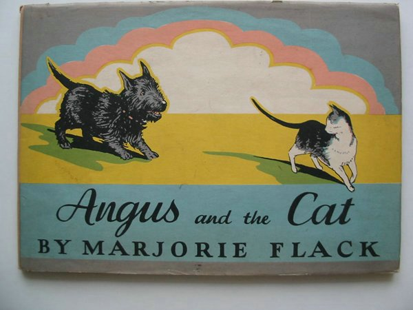 Photo of ANGUS AND THE CAT written by Flack, Marjorie illustrated by Flack, Marjorie published by The Bodley Head (STOCK CODE: 594220)  for sale by Stella & Rose's Books