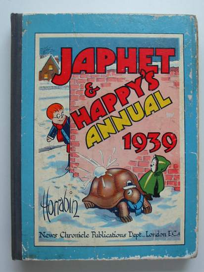 Photo of JAPHET AND HAPPY'S ANNUAL 1939 written by Horrabin, J.F. illustrated by Horrabin, J.F. published by News Chronicle Publications (STOCK CODE: 594425)  for sale by Stella & Rose's Books