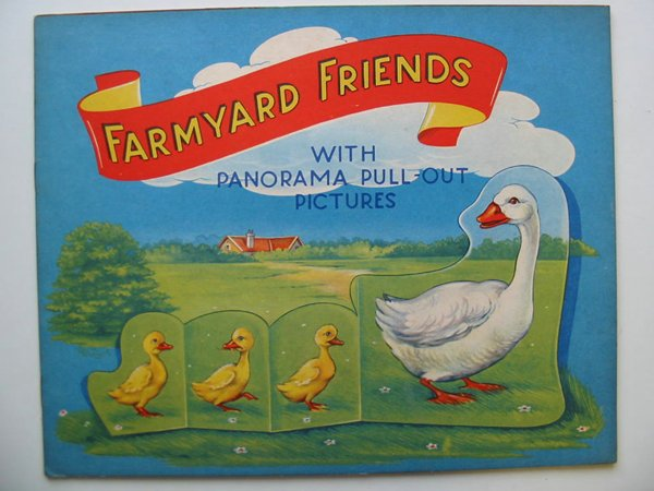 Photo of FARMYARD FRIENDS WITH PANORAMA PULL-OUT PICTURES illustrated by Eshuis, Dick published by B.B. Ltd. (STOCK CODE: 595063)  for sale by Stella & Rose's Books