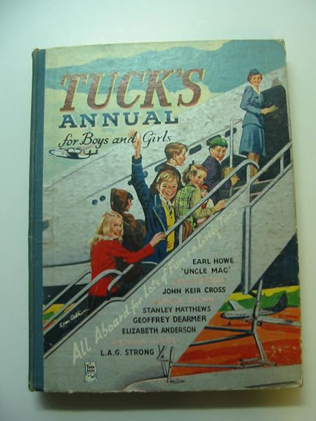 Photo of TUCK'S ANNUAL FOR BOYS AND GIRLS written by Blyton, Enid<br />Brown, Pamela<br />et al,  published by Raphael Tuck & Sons Ltd. (STOCK CODE: 595301)  for sale by Stella & Rose's Books