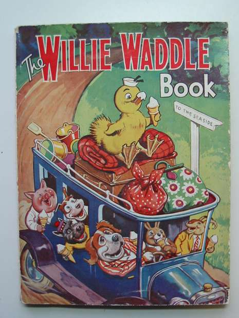 Photo of THE WILLIE WADDLE BOOK 1948 published by John Leng (STOCK CODE: 596331)  for sale by Stella & Rose's Books