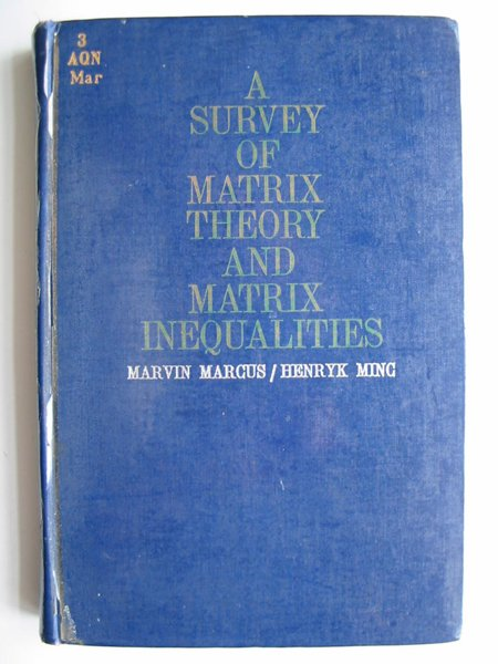 Matrix Theory Book