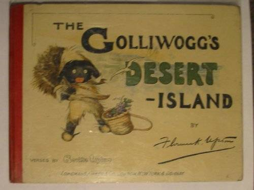 Photo of THE GOLLIWOGG'S DESERT ISLAND written by Upton, Bertha illustrated by Upton, Florence published by Longmans, Green & Co. (STOCK CODE: 604491)  for sale by Stella & Rose's Books