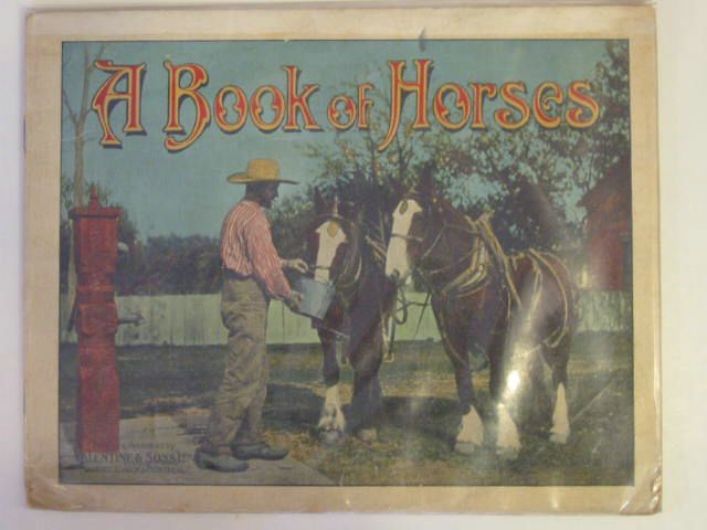 Photo of A BOOK OF HORSES published by Valentine & Sons, Limited (STOCK CODE: 604597)  for sale by Stella & Rose's Books