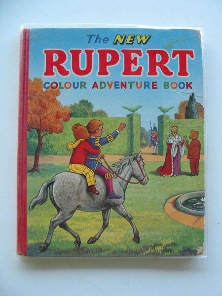 Photo of THE NEW RUPERT COLOUR ADVENTURE BOOK written by Tourtel, Mary published by L.T.A. Robinson Ltd. (STOCK CODE: 607432)  for sale by Stella & Rose's Books