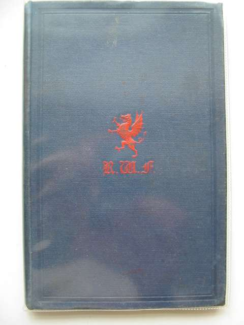 Photo of ROYAL WELCH FUSILIERS BATTLE HONOURS (STOCK CODE: 613549)  for sale by Stella & Rose's Books