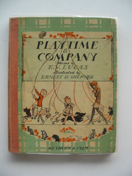 Photo of PLAYTIME & COMPANY written by Lucas, E.V. illustrated by Shepard, E.H. published by Methuen & Co. Ltd. (STOCK CODE: 614184)  for sale by Stella & Rose's Books
