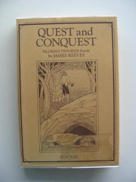 Photo of QUEST AND CONQUEST written by Reeves, James illustrated by Troughton, Joanna published by Blackie (STOCK CODE: 614396)  for sale by Stella & Rose's Books