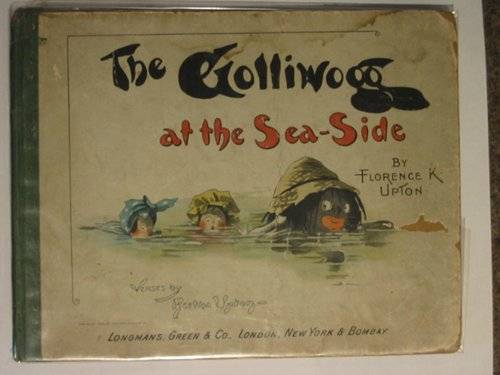Photo of THE GOLLIWOGG AT THE SEA-SIDE written by Upton, Bertha illustrated by Upton, Florence published by Longmans, Green & Co. (STOCK CODE: 615072)  for sale by Stella & Rose's Books