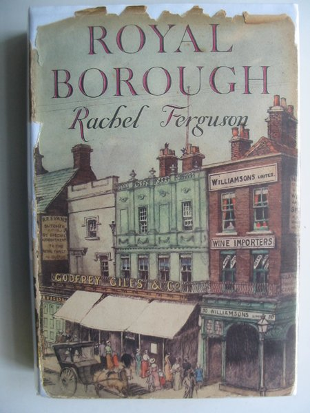 Photo of ROYAL BOROUGH written by Ferguson, Rachel published by Jonathan Cape (STOCK CODE: 620857)  for sale by Stella & Rose's Books