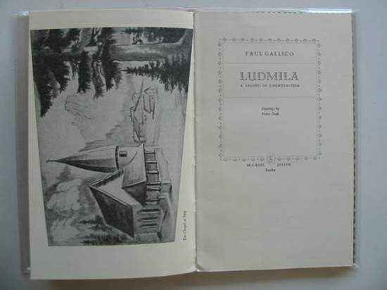 Photo of LUDMILA A LEGEND OF LIECHTENSTEIN written by Gallico, Paul illustrated by Deak, Franz published by Michael Joseph (STOCK CODE: 623542)  for sale by Stella & Rose's Books