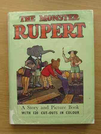 Photo of THE MONSTER RUPERT written by Tourtel, Mary illustrated by Tourtel, Mary published by Sampson Low, Marston & Co. Ltd. (STOCK CODE: 625291)  for sale by Stella & Rose's Books