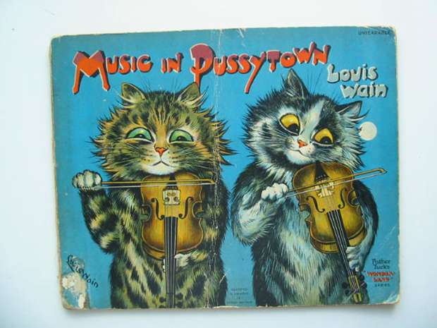 Photo of MUSIC IN PUSSYTOWN illustrated by Wain, Louis published by Raphael Tuck & Sons Ltd. (STOCK CODE: 626888)  for sale by Stella & Rose's Books