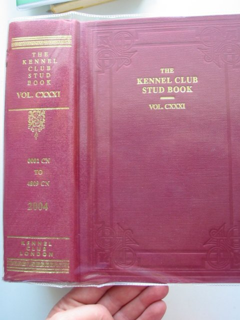 Photo of THE KENNEL CLUB STUD BOOK FOR THE YEAR 2003 VOL CXXXI published by The Kennel Club (STOCK CODE: 626927)  for sale by Stella & Rose's Books
