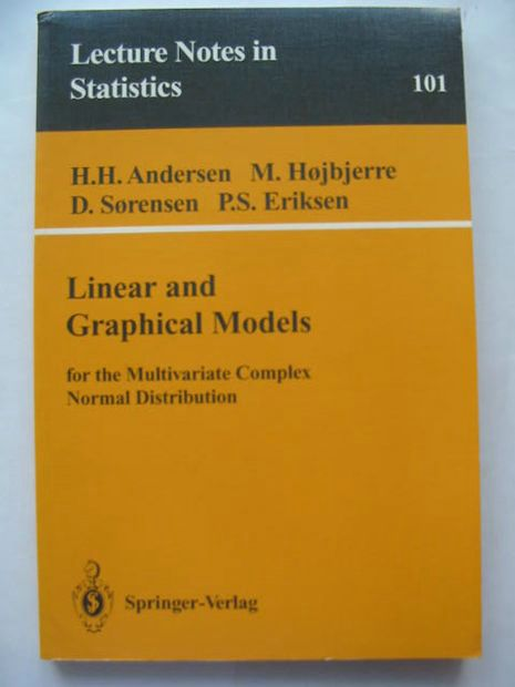 Photo of LINEAR AND GRAPHICAL MODELS written by Andersen, H.H.<br />Hojbjerre, M.<br />Sorensen, D.<br />Eriksen, P.S. published by Springer-Verlag (STOCK CODE: 628483)  for sale by Stella & Rose's Books