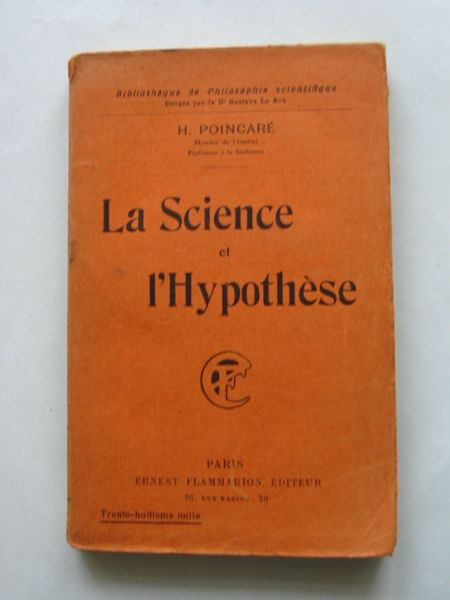Photo of LA SCIENCE ET L'HYPOTHESE written by Poincori, Henri published by Ernest Flammarion (STOCK CODE: 628609)  for sale by Stella & Rose's Books