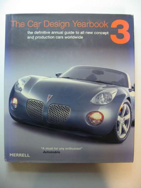 Photo of THE CAR DESIGN YEARBOOK 3 written by Newbury, Stephen published by Merrell Publishers Limited (STOCK CODE: 628705)  for sale by Stella & Rose's Books