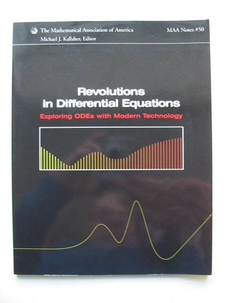Photo of REVOLUTIONS IN DIFFERENTIAL EQUATIONS written by Kallaher, Michael J. published by The Mathematical Association Of America (STOCK CODE: 628944)  for sale by Stella & Rose's Books