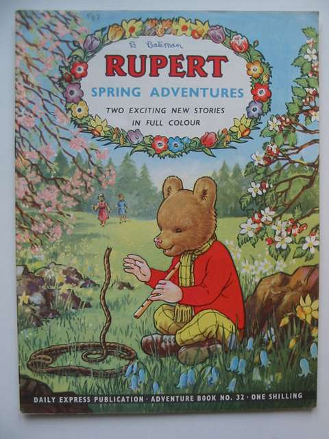Photo of RUPERT ADVENTURE BOOK No. 32 - SPRING ADVENTURES written by Bestall, Alfred published by Daily Express (STOCK CODE: 629103)  for sale by Stella & Rose's Books