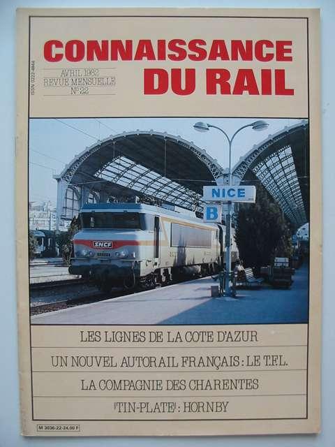 Photo of CONNAISSANCE DU RAIL No. 22 published by Connaissance Du Rail (STOCK CODE: 629288)  for sale by Stella & Rose's Books