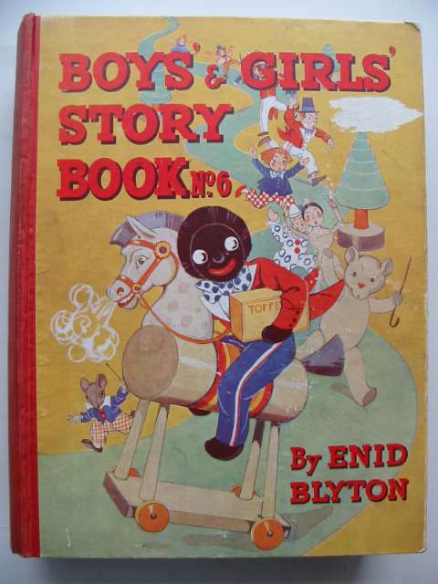 Photo of BOYS' AND GIRLS' STORY BOOK NO. 6 written by Blyton, Enid illustrated by Wheeler, Dorothy<br />Thorp, Marjorie<br />McGavin, Hilda<br />Lodge, Grace<br />Davie, E.H. published by News Chronicle (STOCK CODE: 630529)  for sale by Stella & Rose's Books